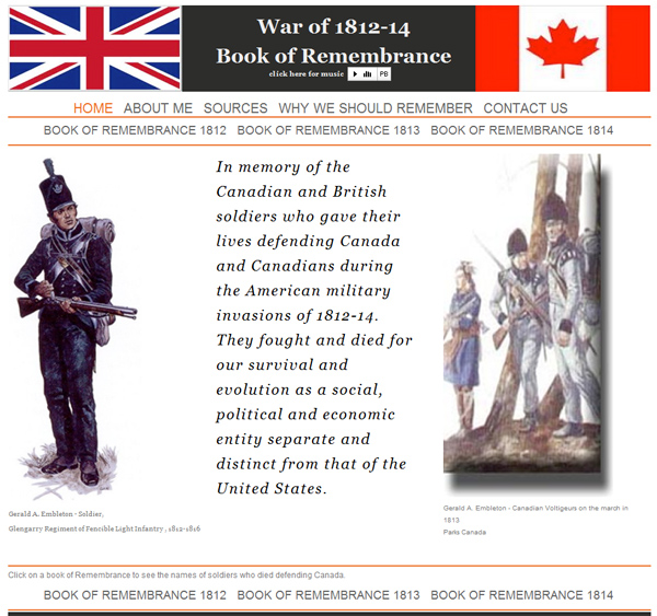 Remembrance 1812